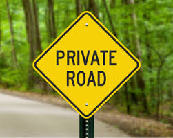 Do you Live on a Private Road?